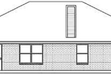 Dream House Plan - Traditional Exterior - Rear Elevation Plan #84-192