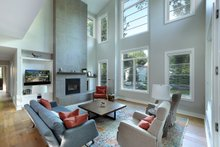 Architectural House Design - Living Room