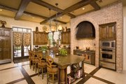 Southern Style House Plan - 6 Beds 6.5 Baths 9360 Sq/Ft Plan #20-2173 Interior - Kitchen