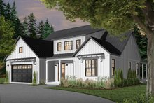 Home Plan - Farmhouse Exterior - Front Elevation Plan #23-2690