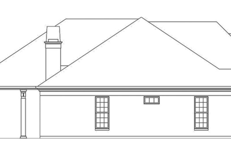 European Exterior - Other Elevation Plan #119-418 - Houseplans.com