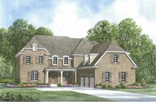 European Exterior - Front Elevation Plan #952-206