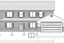 Home Plan - Traditional Exterior - Front Elevation Plan #1060-17