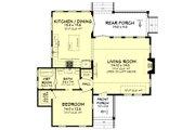 Farmhouse Style House Plan - 1 Beds 1 Baths 1494 Sq/Ft Plan #430-177 Floor Plan - Main Floor Plan