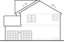 House Plan Design - Traditional Exterior - Other Elevation Plan #1053-55