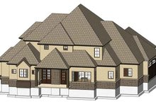 Dream House Plan - Country Exterior - Rear Elevation Plan #937-33