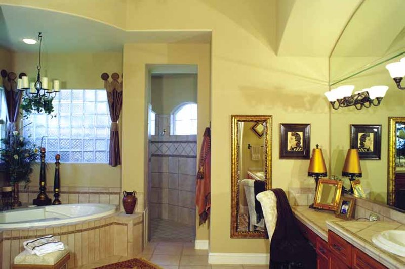 Mediterranean Interior - Bathroom Plan #417-748 - Houseplans.com