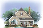 Craftsman Style House Plan - 3 Beds 3 Baths 1819 Sq/Ft Plan #929-869 Exterior - Rear Elevation