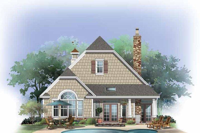 Craftsman Exterior - Rear Elevation Plan #929-869 - Houseplans.com