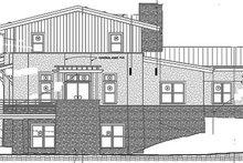 Contemporary Exterior - Rear Elevation Plan #1042-16