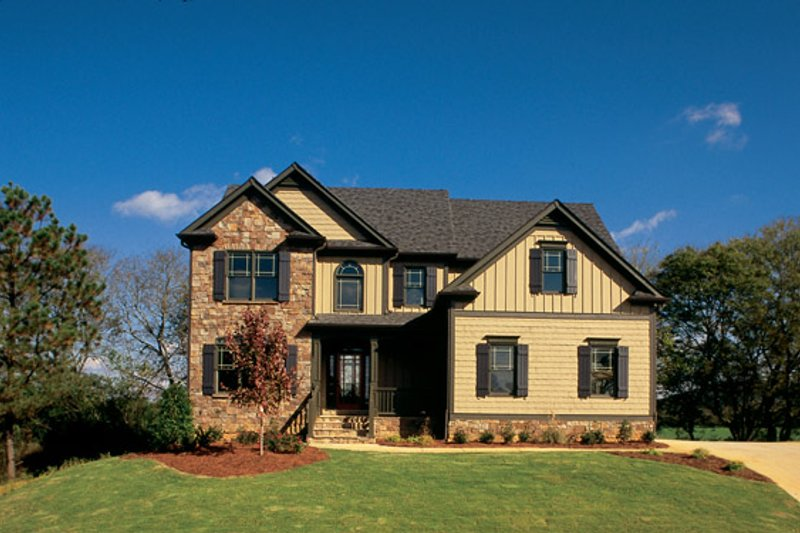 Country Exterior - Front Elevation Plan #927-740