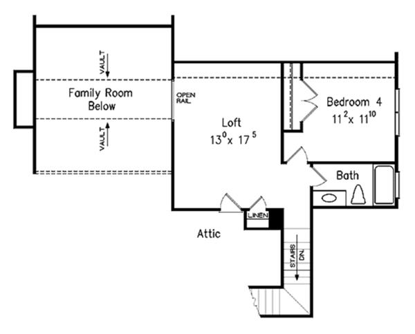 Country Floor Plan - Other Floor Plan Plan #927-131
