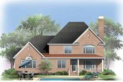 Traditional Style House Plan - 5 Beds 4 Baths 3084 Sq/Ft Plan #929-794