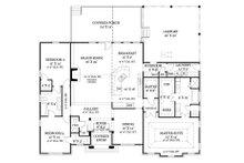 European Floor Plan - Main Floor Plan Plan #119-418