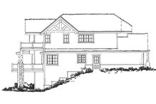 Cabin Exterior - Other Elevation Plan #942-36