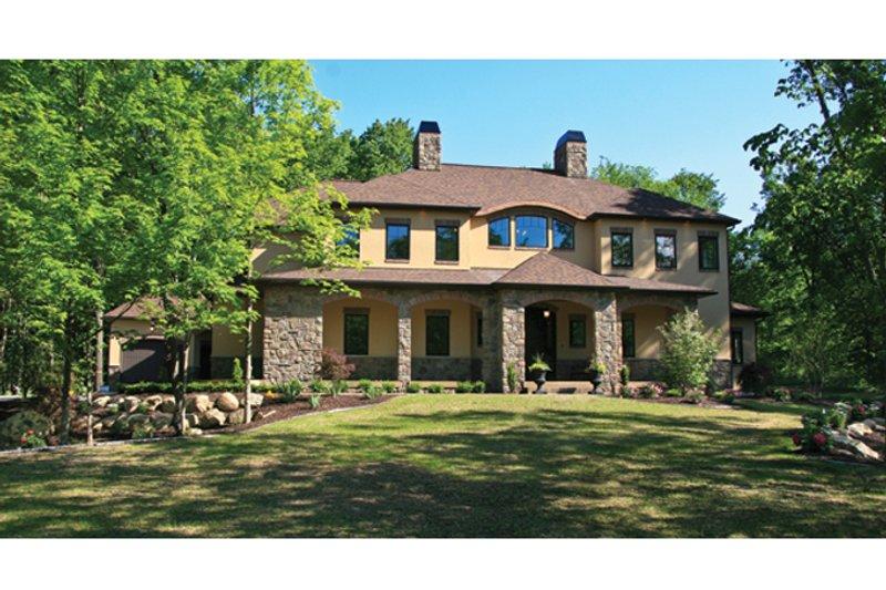 House Plan Design - Prairie Exterior - Front Elevation Plan #928-248