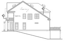 House Plan Design - Traditional Exterior - Other Elevation Plan #927-537