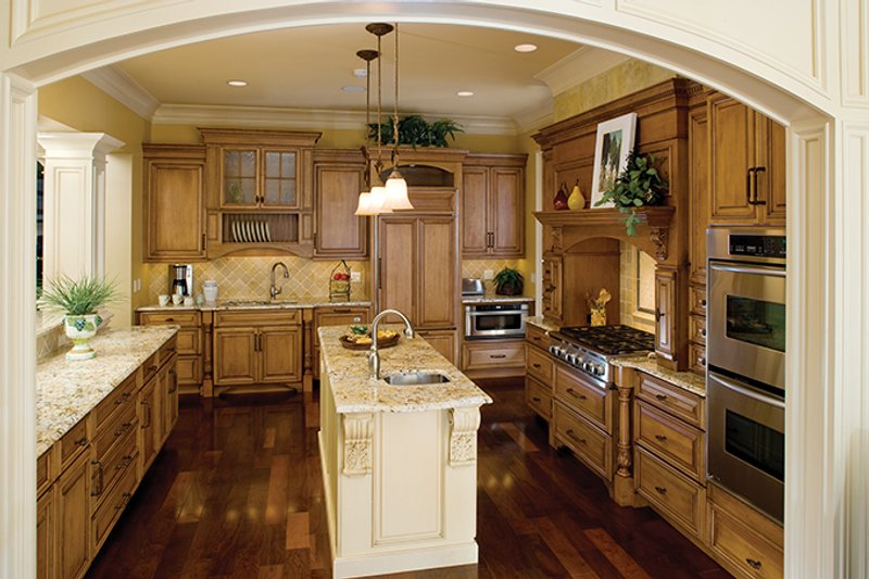 European Interior - Kitchen Plan #929-894 - Houseplans.com