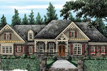 Dream House Plan - Country Exterior - Front Elevation Plan #927-415