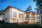 Contemporary Style House Plan - 5 Beds 5 Baths 4273 Sq/Ft Plan #1066-112 Exterior - Other Elevation