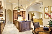 Home Plan - Mediterranean Interior - Kitchen Plan #930-446