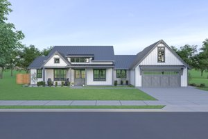 Farmhouse Exterior - Front Elevation Plan #1070-93