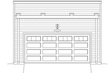 Contemporary Exterior - Front Elevation Plan #932-231
