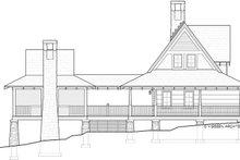 Log Exterior - Other Elevation Plan #928-281