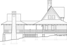 Home Plan - Log Exterior - Other Elevation Plan #928-281