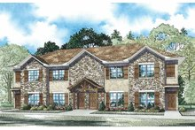 Home Plan - Traditional Exterior - Front Elevation Plan #17-3359