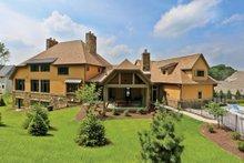 House Plan Design - European Exterior - Rear Elevation Plan #928-267