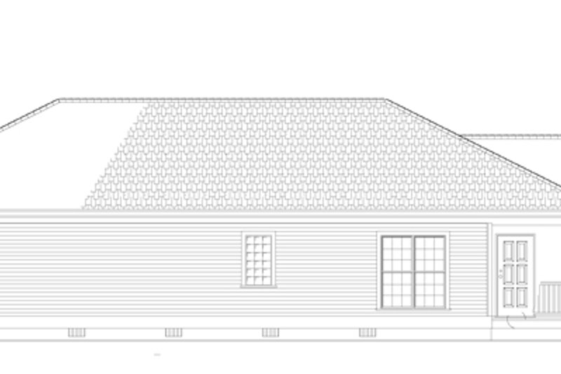 Country Exterior - Other Elevation Plan #17-3057 - Houseplans.com