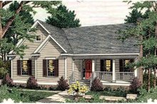 Traditional Exterior - Front Elevation Plan #406-281
