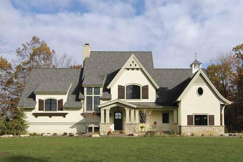 House Plan Design - European Exterior - Front Elevation Plan #928-25