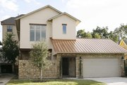 Modern Style House Plan - 3 Beds 3 Baths 3928 Sq/Ft Plan #449-1 Exterior - Front Elevation