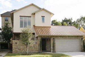 Modern Exterior - Front Elevation Plan #449-1