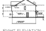 Cottage Style House Plan - 4 Beds 3 Baths 1638 Sq/Ft Plan #50-114 Exterior - Rear Elevation