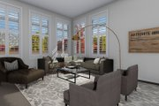 Traditional Style House Plan - 3 Beds 2.5 Baths 2084 Sq/Ft Plan #1060-62