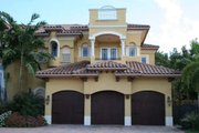 Mediterranean Style House Plan - 5 Beds 7.5 Baths 6679 Sq/Ft Plan #420-192