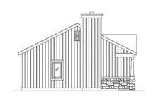 Dream House Plan - Cottage Exterior - Other Elevation Plan #22-608