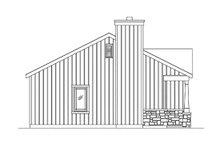 House Plan Design - Cottage Exterior - Other Elevation Plan #22-608