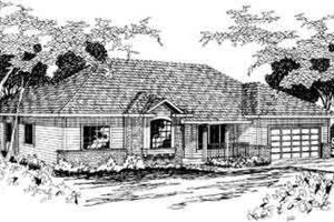 Home Plan - Exterior - Front Elevation Plan #124-279