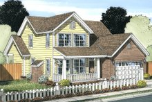 Dream House Plan - Cottage Exterior - Front Elevation Plan #513-2063