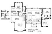 Ranch Style House Plan - 3 Beds 2.5 Baths 2112 Sq/Ft Plan #1010-241 Floor Plan - Main Floor Plan