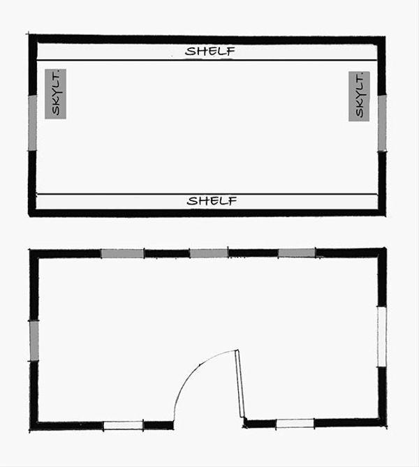 Cottage Floor Plan - Other Floor Plan Plan #896-1