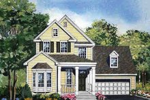 Country Exterior - Front Elevation Plan #314-291
