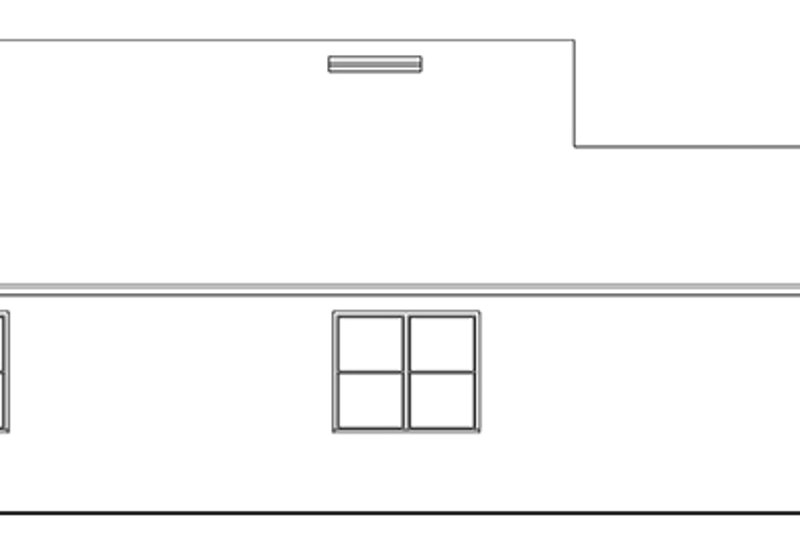 Ranch Exterior - Other Elevation Plan #1058-105 - Houseplans.com
