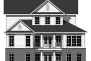Farmhouse Style House Plan - 4 Beds 2 Baths 2510 Sq/Ft Plan #21-331 Exterior - Rear Elevation