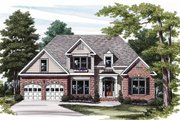 Traditional Style House Plan - 3 Beds 2.5 Baths 1896 Sq/Ft Plan #927-572