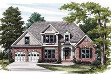 Home Plan Design - Traditional Exterior - Front Elevation Plan #927-572